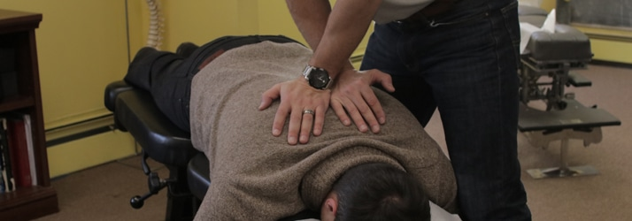 Chiropractic Adjustment at Princeton Chiropractic Wellness Center